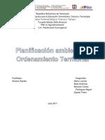Planificacion Ambiental y Territorial Participativa