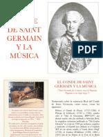 Conde Saint Germain y La Musica