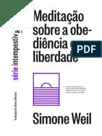 Simone WEIL - Meditação sobre a obediência e a liberdade.pdf