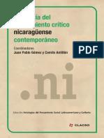 Antología del pensamiento crítico nicaragüense contemporáneo