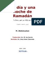 Un Dia y Una Noche Del Mes de Ramadan