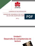 DESARROLLO DE COMPETENCIAS DE LECTURA, ESCRITURA Y MATEMÁTICAS PPT 2