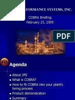 COBRA Presentation for Release
