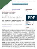 Efecto de La Musicoterapia Sobre Los Niveles de Estrés de Los Usuarios Internos de La Clínica de Odontología de La Universidad Del Desarrollo