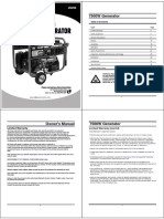 Apgg7500 Owners Manual w Parts