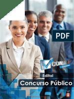 Edital de Abertura n 01 2017 Concurso Publico