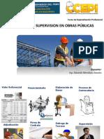Supervision y Residencia de Obra Publicass