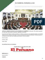 Elperuano.pe-el Perú Será Un País Moderno Inclusivo y Con Oportunidades