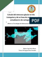 Cálculo Del Retroceso Glaciar