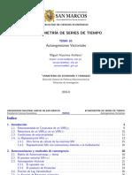 Ataurima-Arellano M. (2016ii). 010. Autoregresiones Vectoriales