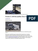 Ficha Tecnica Scania