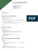 PL SQL Example