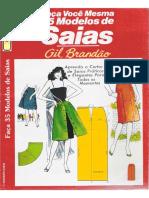 35 Modelos de Saias-Gil Brandão