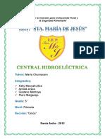 Monografia Central Hidroeléctrica