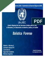 Módulo 4 - Balistica Forense 1