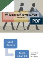 Studi Literatur Terkait Ot