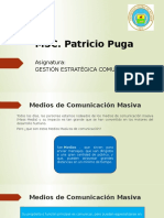Clase 4. Medios de Comunicación Masiva