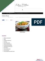 Chicken Bhurji