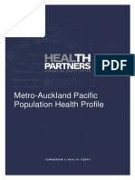 Metro Auckland Pacific Population Health Profile April2103