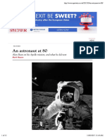 An astronaut at 80   The Spectator