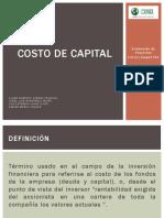 Monografía - Costo de Capital