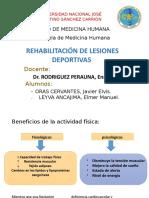 Rehabilitacion de Lesiones Deportivas