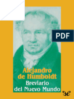 Von Humboldt Alexander - Breviario Del Nuevo Mundo