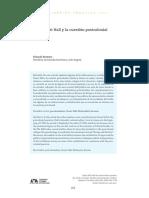 Stuart Hall y Poscolonialidad