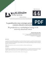 gamificacion como estrategia metodologica
