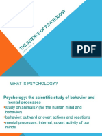 1_Science of Psychology Part 1