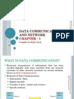 datacommunication and networking