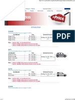 All Product Prices-Suzuki