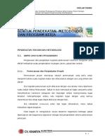 Bab 05 Bentuk Uraian Pendekatan, Metodologi & Prog Kerja
