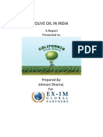 Olive Oil Report