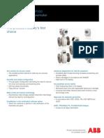 Electromagnetic Flowmeter ProcessMaster FEP300 ABB