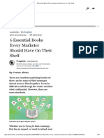 6 Essential Books Every Marketer Should Have on Their Shelf 1