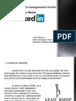 Rolul Leadershipului În Managementul Inovării.