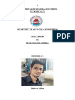 Phase Change Of Material By Shashwat Mishra