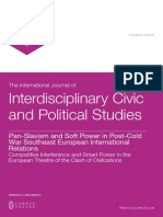 Pan-Slavism and Soft Power in Post-Cold War Southeast European International Relations