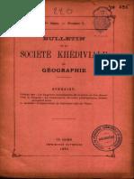 Daressy, G - L'Emplacement de l'Ancienne Ville de Thinis BSKG 3 (1894) 233-235