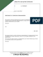 Sub-Clause 4.3 – Contractor's Representative.doc