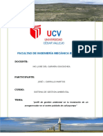 Perfil de Gestion Ambiental