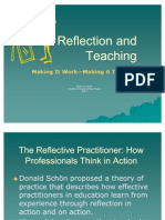 Reflection and Teaching