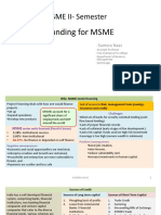 3.1 Funding for MSME Basics SN June 2016
