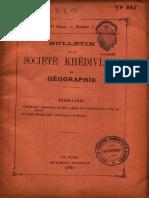Sommaires BSKG 4e série 1 - 5e série 9 (1894-1900)