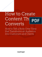 Copyblogger How to Create Content That Converts
