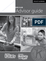 Advisor Guide for Faculty and Kiwanis Advisors