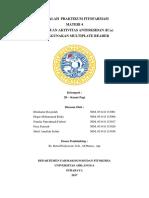 Pengujian Aktivitas Antioksidan dengan Metode DPPH