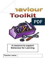 Qft - Leics Sips Behaviour Toolkit