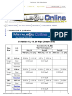 Pipe Schedule 10, 40, 80 Specifications.pdf
